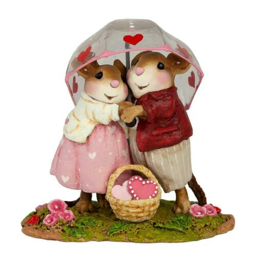 """Wee Forest Folk M-639c """" Sharing Sweethearts"""""""