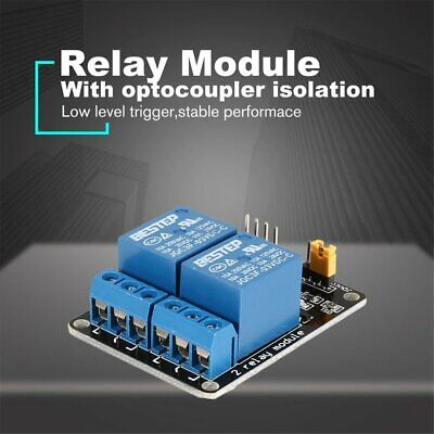 3v 2 Way Relay Module Interface Board Low Level Trigger Optocoupler Arduino Kw