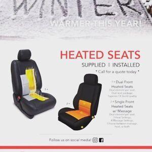 Heated Seat Installation