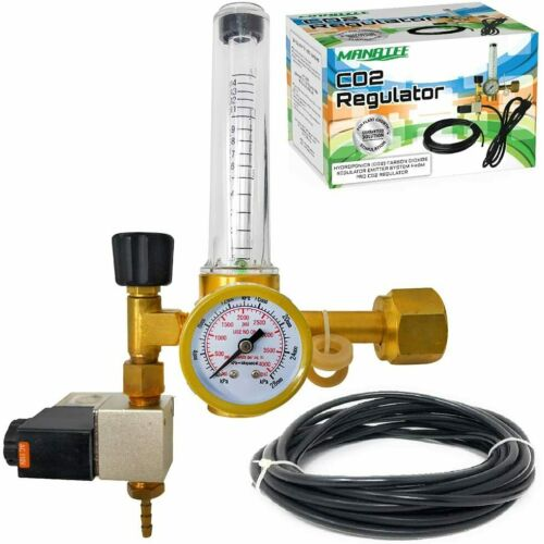 Co2 Regulator Hydroponics Emitter System with Solenoid Valve by Manatee Accur...