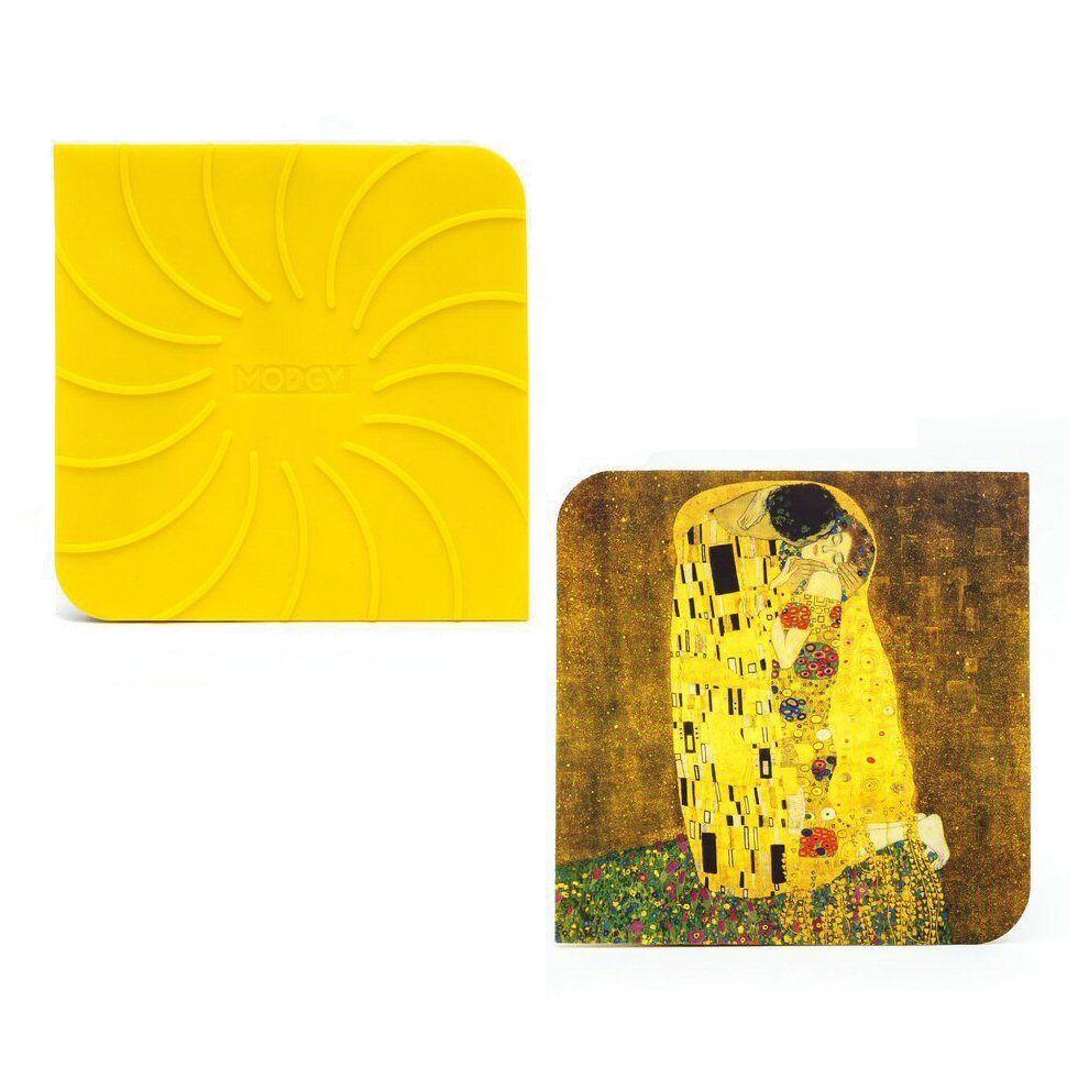 Modgy Silicone Jar Opener / Trivet - Gustav Klimt The Kiss