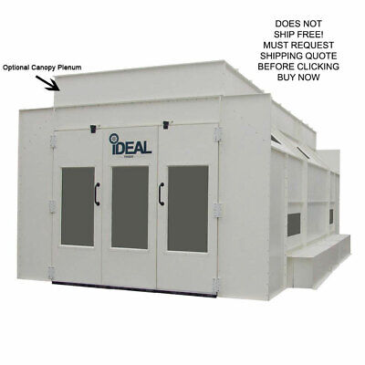 NEW IDEAL Side Down Draft Automotive Vehicle Car Truck Paint Spray Booth