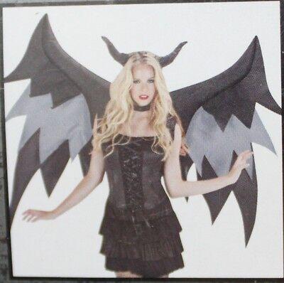 Aufblasbar Demon Wings Zubehör Halloween Kostüm Erwachsene Herren Damen (Airblown Aufblasbare Kostüme)