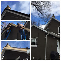 Eavestrough Installation and Repair