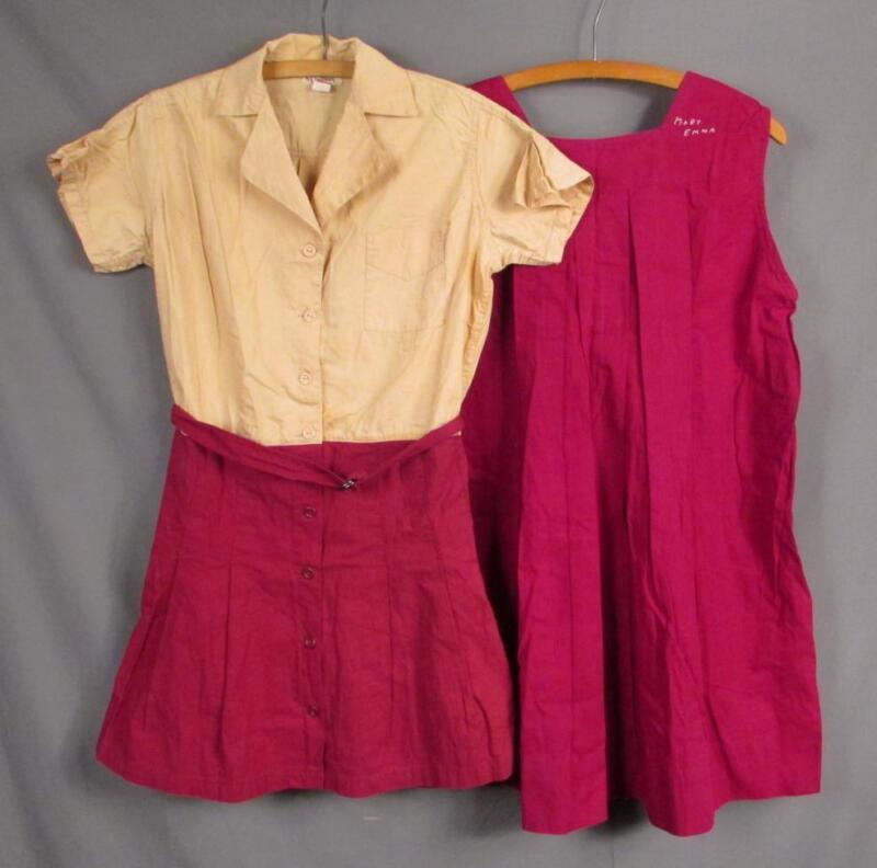 Vintage 1930s Aldrich&Aldrich Athletic Uniform Sports Gym Outfit 2 Piece Antique