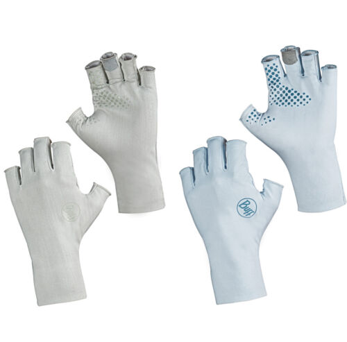 BUFF Solar Gloves - Fishing Gloves, Sun Protection for Fresh & Saltwater Fishing