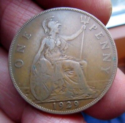 1929 One Penny King George V th