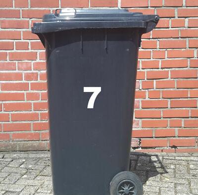 r Beschriftung Buchstaben Zahlen  Aufkleber wetterfest AN8 (Buchstaben Aufkleber)