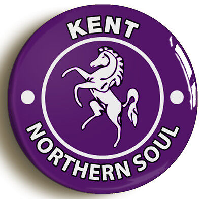 kent northern soul badge button pin (1inch/25mm diametr) keep faith wigan casino