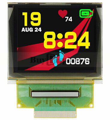 Spi 1.69 Inch 160x128 Color Rgb Oled Display Panel Wide Viewing Angle Wtutorial