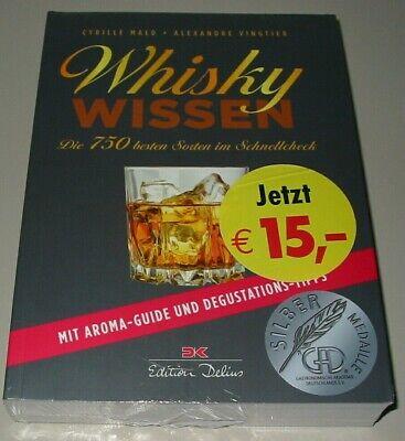 Whisky Wissen - Die 750 besten Sorten im Schnellcheck mit Aroma Guide Buch Neu!