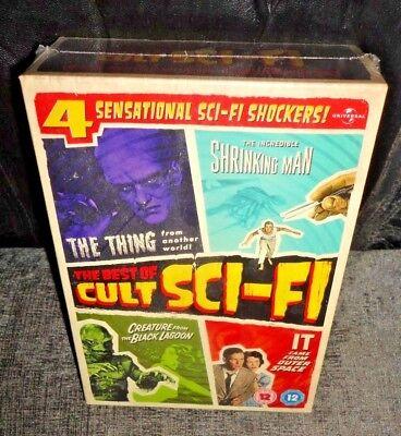 The Best Of Cult Sci-Fi (DVD, 2011, 4-Discs)