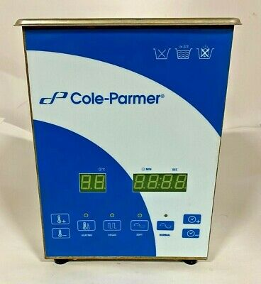 Cole-parmer 2 Liter Ultrasonic Cleaner With Digital Timer And Heat 08895-01
