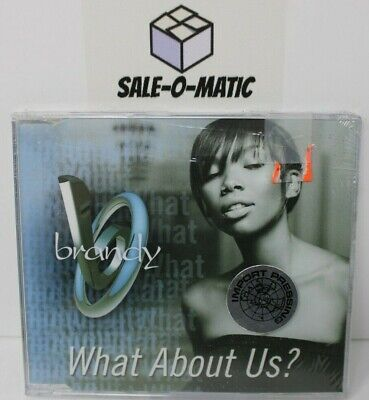 BRANDY - WHAT ABOUT US? CD 2002 HIP HOP (SINGLE) (AUSTRALIA)