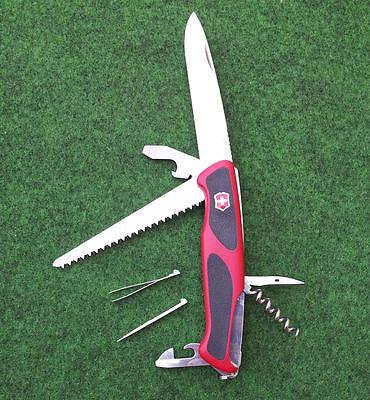 Victorinox RANGERGRIP 55 Offiziers Taschenmesser Nr. 0.9563.C rot/schwarz