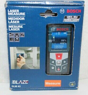 Bosch Blaze Glm 42 Laser Measure 135ft