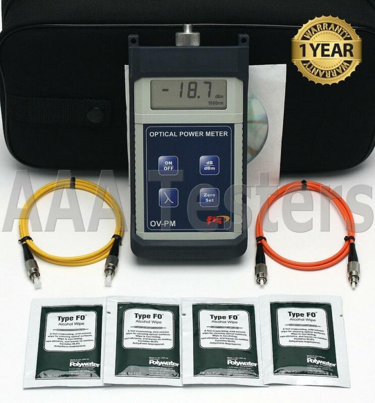 FIS OV-PM SM MM Fiber Optic Power Meter F18513HH OVPM