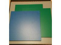 Set of Lego boards