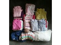 Baby girls clothes bundle 0-3months