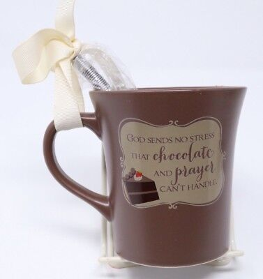 Chocolate Coffee Mug Cake Recipe 10 oz Brown Tea Cup Abbey Press Gift Set - Chocolate Coffee Cake Recipes