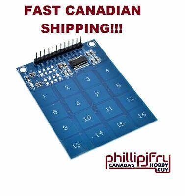 Arduino Ttp229 16 Channel Digital Capacitive Switch Touch Sensor Module. Canada