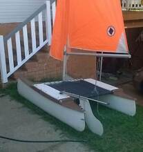 7' catamaran complete with mast, sails, rudder Tarragindi Brisbane South West Preview