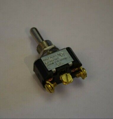Switch Toggle Spdt Carling Momentary 3 Position On-off-on 34hp 120-240v