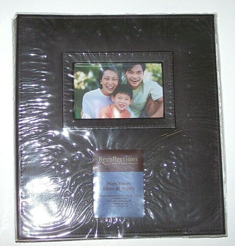 Nwt New Recollections Photo Album Book 13 X 13 inch  Holds 400 4 X 6 inch Brown