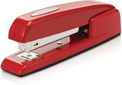 Red Stapler Swingline Vintage 747 Metal Desktop Office Stapler Desk Stapler
