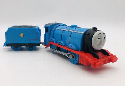 "Trackmaster Thomas & Friends ""GORDON"" 2013 WORKING Motorized Train W/ Tinder"