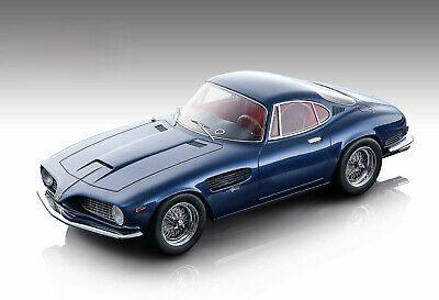 1962 FERRARI 250 GT SWB BERTONE BLUE MET. 1/18 MODEL CAR BY TECNOMODEL TM18-103B
