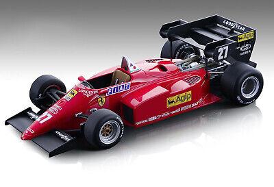 FERRARI 126 C4-M2 #27 ALBORETO F1 EUROPEAN GP 1984 1/18 CAR TECNOMODEL TM18-122B