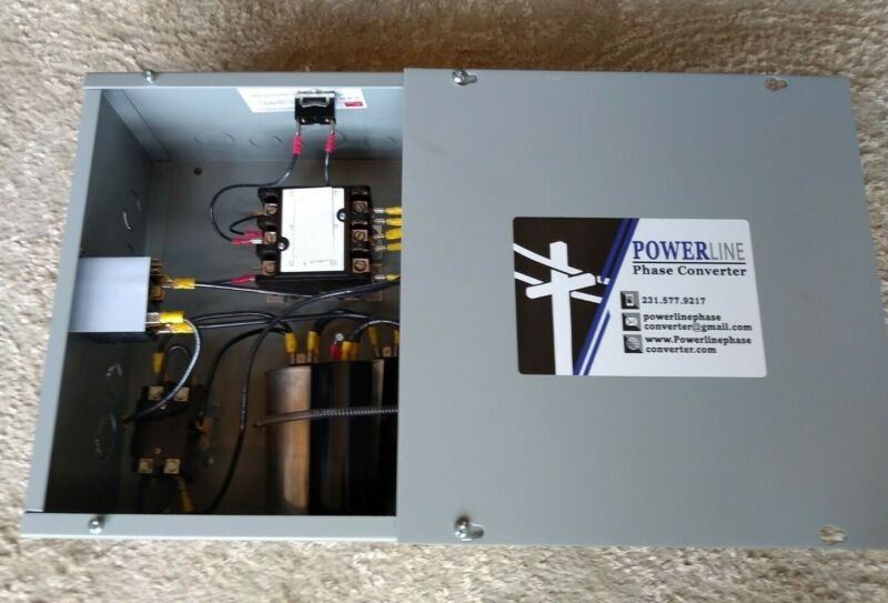 15 HP Rotary Phase Converter Panel