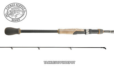LOT OF 2 QUANTUM QX36 QXC36S602M 6/' MEDIUM TWO PIECE SPINNING ROD