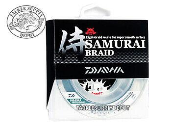 Daiwa Samurai Braid Braided Fishing Line Green 300yd - Pick
