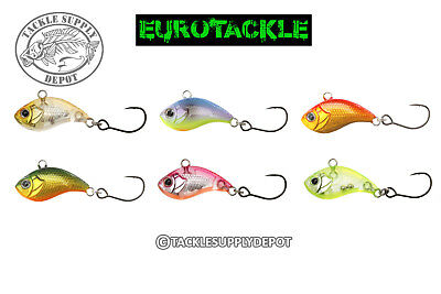 Eurotackle Z Viber Ice Pan Trout Fishing Lipless Jig Crankbait 1In 1 16Oz   Pick