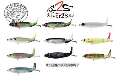 River2Sea Whopper Plopper Topwater Prop Bait 110 4 3/8in 3/4oz - Pick