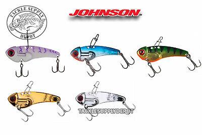 Johnson Thinfisher Blade Bait Rattling Jigging 1/2oz- - Blade Bait