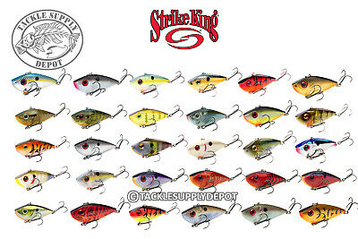 Strike King Red Eye Shad Lipless Crankbait 3in 3/4oz -