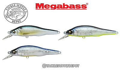 PICK COLOR MEGABASS X-80 TRICK DARTER JERKBAIT