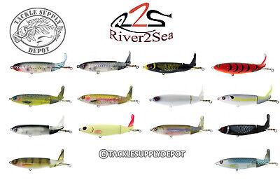 River2Sea Whopper Plopper Topwater Prop Bait 130 Rattle In 5in 1 3/8oz - Pick