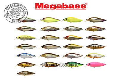 Megabass Diving Flap Slap Jerkbait Crankbait 3in 3//8oz Pick
