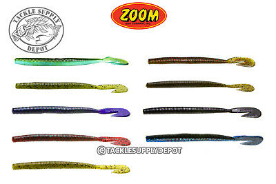 Speed Worm (Zoom Ultra Vibe Speed Worm Burner Tail 6in 15pk -)