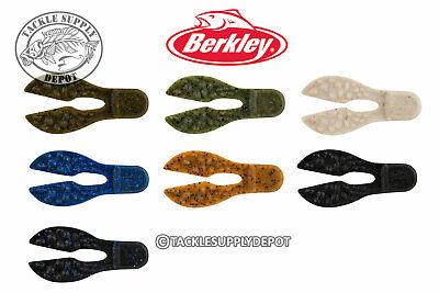 Berkley Powerbait MaxScent Meaty Chunk 3in 6pk Jig Trailer Bait - Pick ()