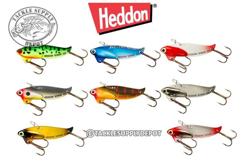 Heddon Sonar Vibrating Jigging Blade Bait 1/2oz - Pick