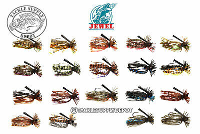 Jewel Bait Jig Pro Spider Finesse Bass 2pk 5/16oz- Pick (Jewel Spider)