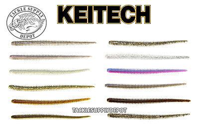 KEITECH Easy Shaker 5.5 in Worm Drop Shot Finesse NEKO Shakey Head 10pk JDM Pick