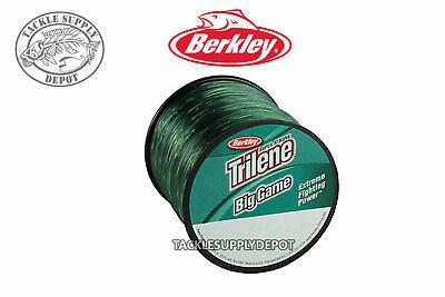 Berkley Trilene Big Game Mono Monofilament Fishing Line Green - Pick