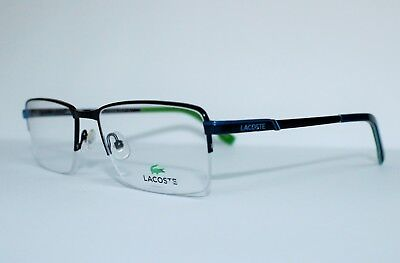 BRAND NEW LACOSTE L2221 424 BLUE AUTHENTIC EYEGLASSES L 2221 RX 55-16-145 MM