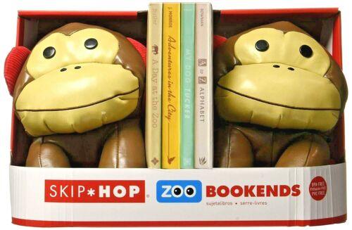 Skip Hop Set of 2 Zoo Monkey Bookends